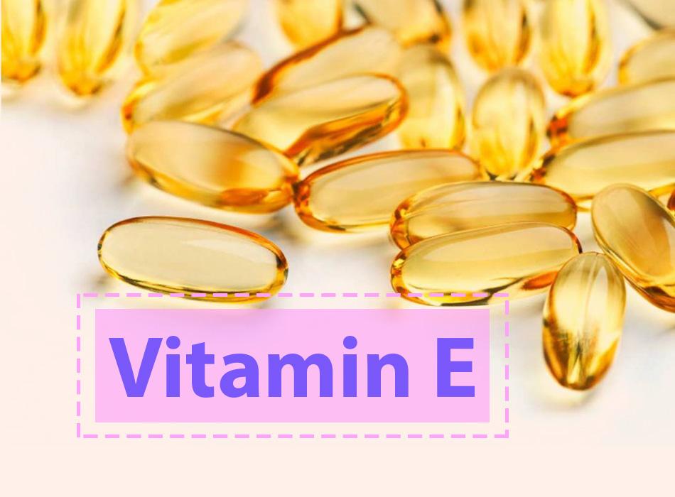 Vitamin E giúp hỗ trợ điều trị sẹo thâm trên chân hiệu quả