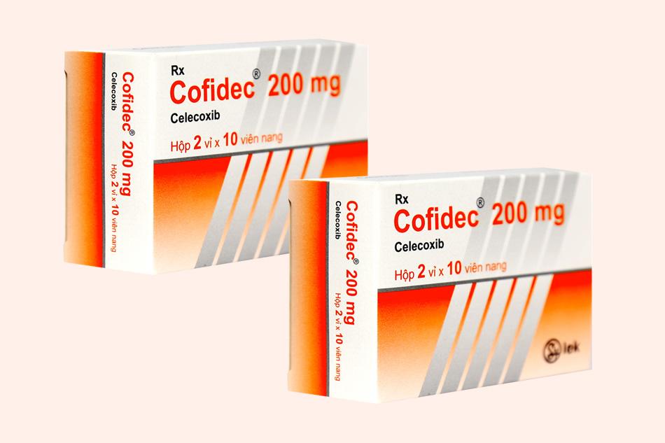 Thuốc Cofidec chứa thành phần Celecoxib