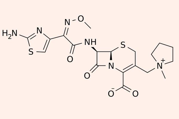 Cấu trúc hóa học của Cefepime