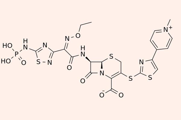 Cấu trúc hóa học của Ceftaroline fosamil