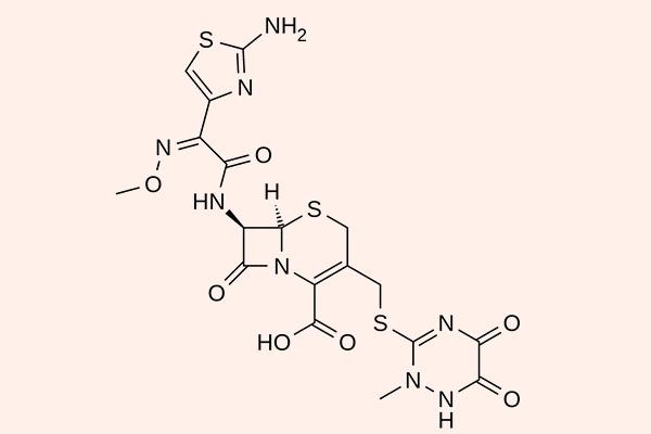 Cấu trúc hóa học của Ceftriaxone