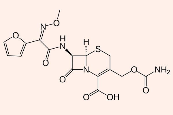 Cấu trúc hóa học của Cefuroxime