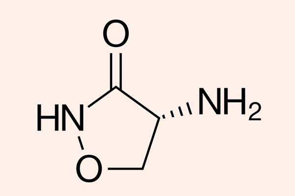 Cấu trúc hóa học của Cycloserine