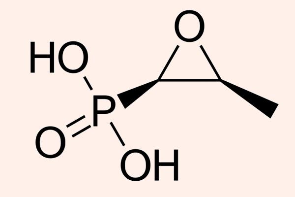 Cấu trúc hóa học của Fosfomycin