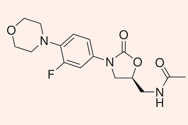 Cấu trúc hóa học của Linezolid