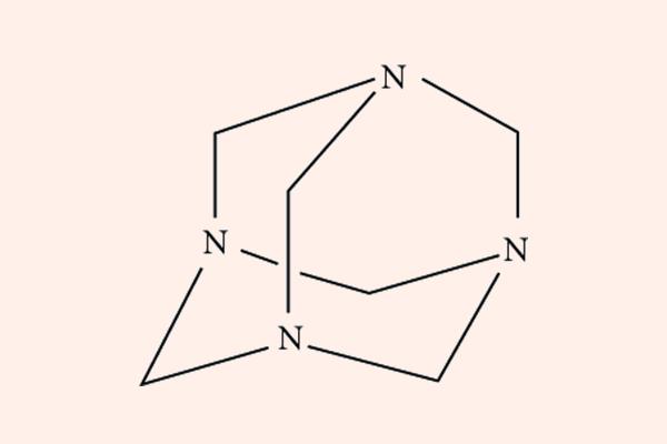 Cấu trúc hóa học của Methenamine