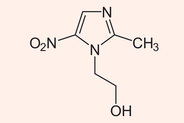 Cấu trúc hóa học của Metronidazole