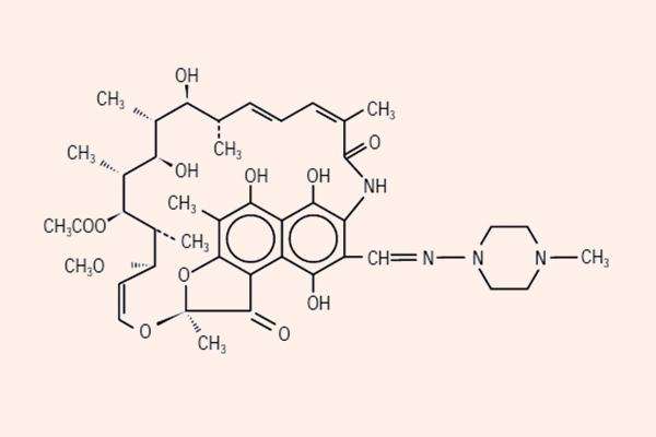 Cấu trúc hóa học của Rifampin