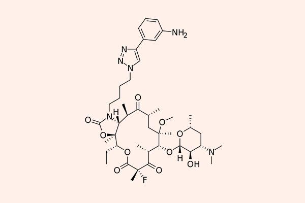 Cấu trúc hóa học của Solithromycin