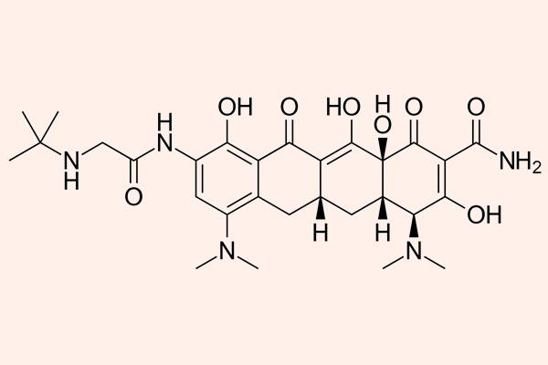 Cấu trúc hóa học của Tigecycline