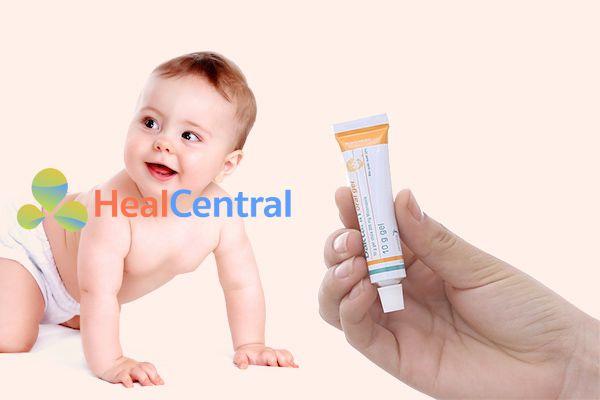 Daktarin có dùng được cho trẻ sơ sinh?