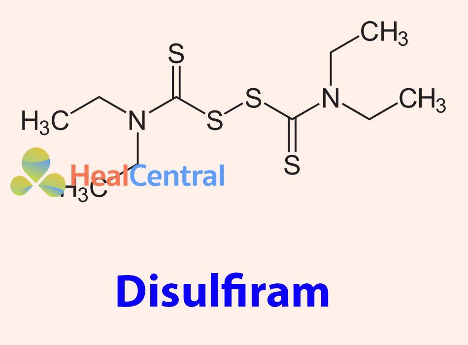 Công thức hóa học của Disulfiram