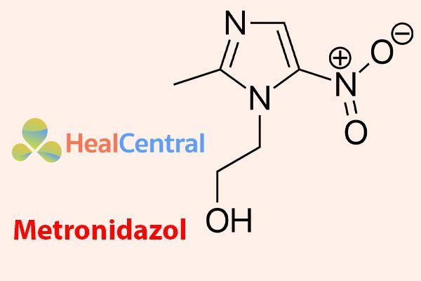 Công thức hóa học của Metronidazol