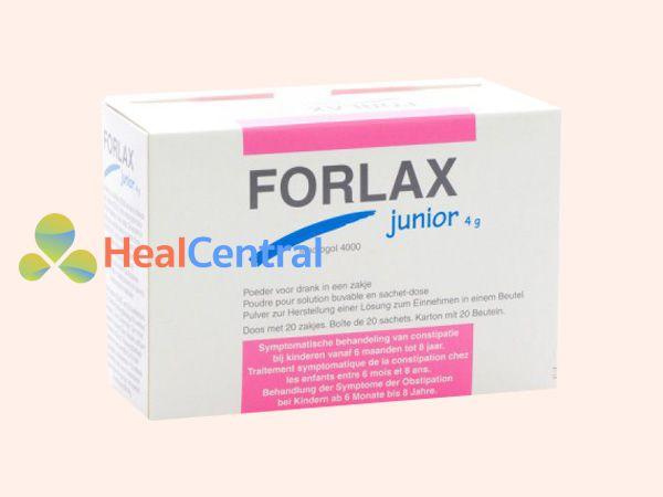 Hình ảnh hộp thuốc Forlax 4g