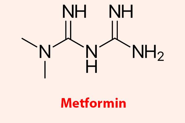 Công thức hóa học của Metformin