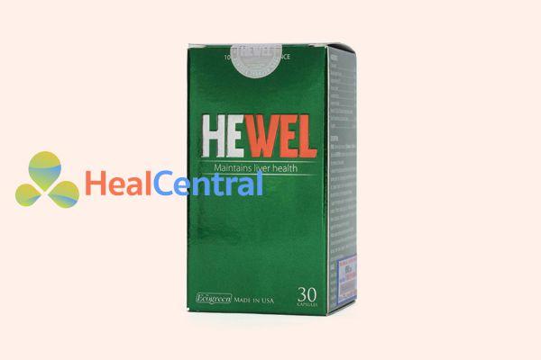 Hình ảnh: Thực phẩm chức năng hạ men gan Hewel