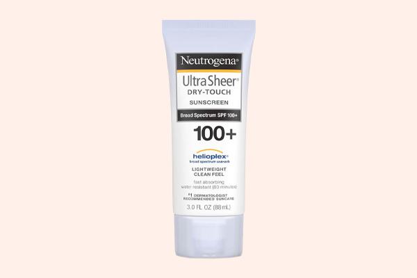 Kem chống nắng Neutrogena Ultra Sheer SPF 100 PA +++
