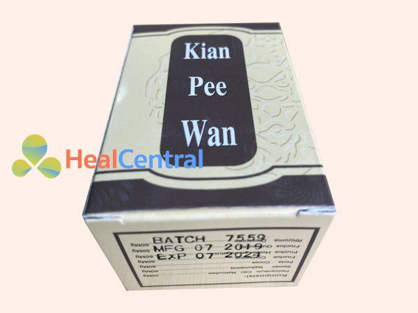 Kian Pee Wan có nguồn gốc thảo dược