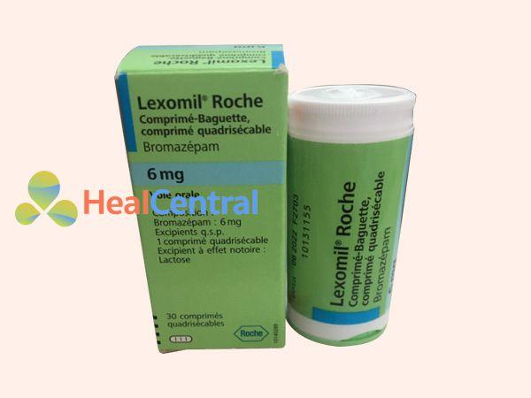 Hình ảnh hộp thuốc Lexomil