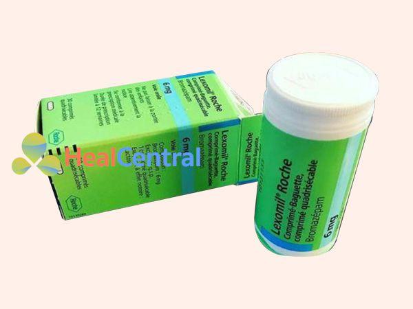 Lexomil - điều trị cho bệnh nhân mất ngủ