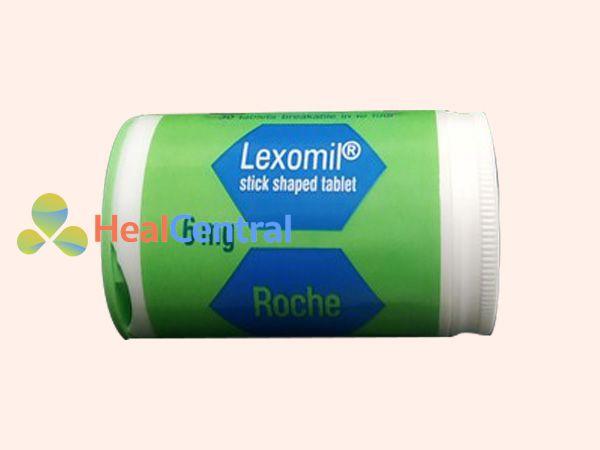 Hình ảnh lọ thuốc Lexomil