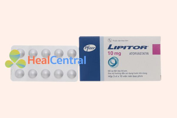 Thuốc Lipitor 10mg