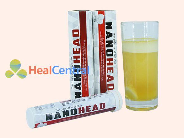 Viên sủi Nano Head có nguồn gốc thảo dược