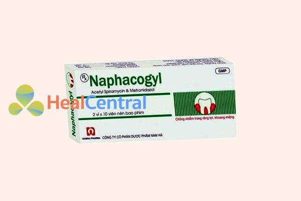 Hình ảnh: Hộp thuốc Naphacogyl