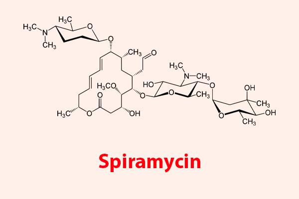 Công thức hóa học của Spiramycin
