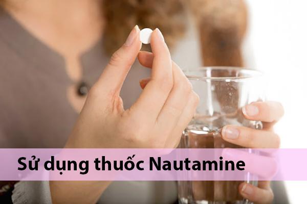 Cách sử dụng thuốc Nautamine