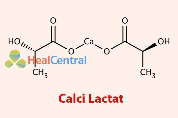 Calci lactat có trong Obimin