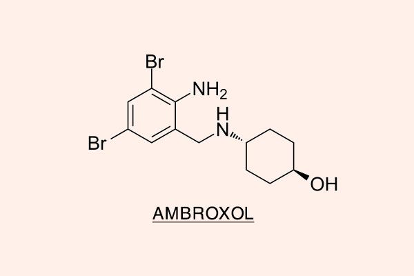 Công thức hóa học của Ambroxol