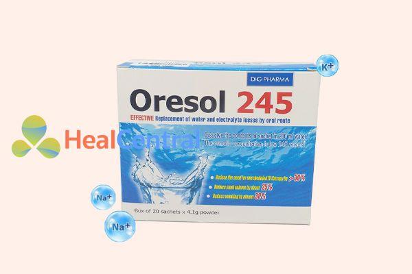 Hình ảnh: Oresol 245 hộp 20 gói