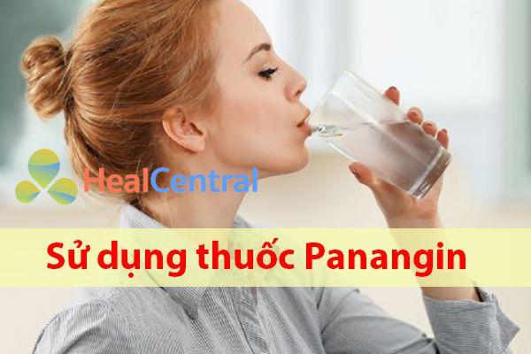 Cách sử dụng thuốc Panangin