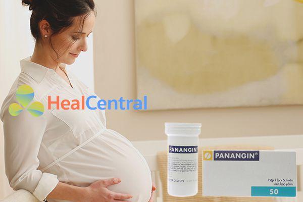 Phụ nữ có thai sử dụng Panangin được không?
