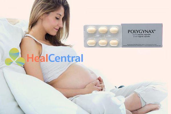 Phụ nữ có thai có dùng Polygynax được không?