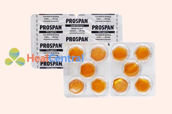 Hình ảnh: Thuốc ho Prospan vỉ 10 viên
