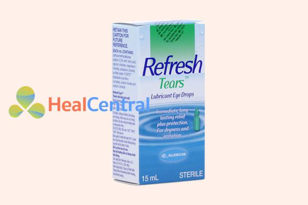 Hình ảnh: Hộp thuốc nhỏ mắt Refresh Tears