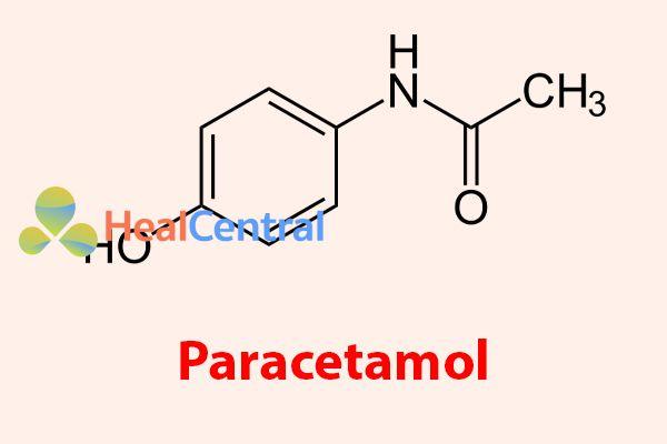 Công thức hóa học của Paracetamol