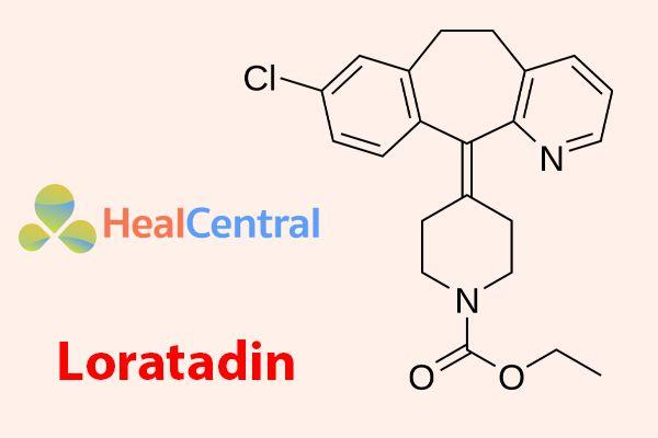 Công thức hóa học của Loratadin