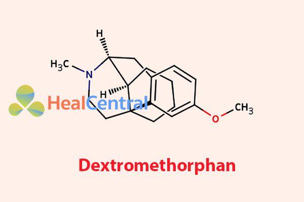 Công thức hóa học của Dextromethorphan
