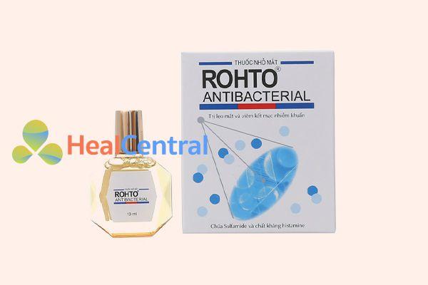 Thuốc nhỏ mắt Rohto Antibacterial lọ 13ml