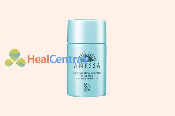 Sữa Chống Nắng Anessa Essence UV Sunscreen Mild Milk SPF 35/ PA+++ (20ml)