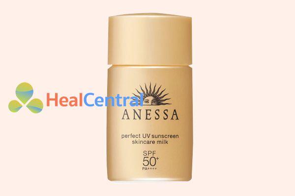 Sữa Chống Nắng Dưỡng Da Bảo Vệ Hoàn Hảo Anessa Perfect UV Sunscreen Skincare Milk 60ml
