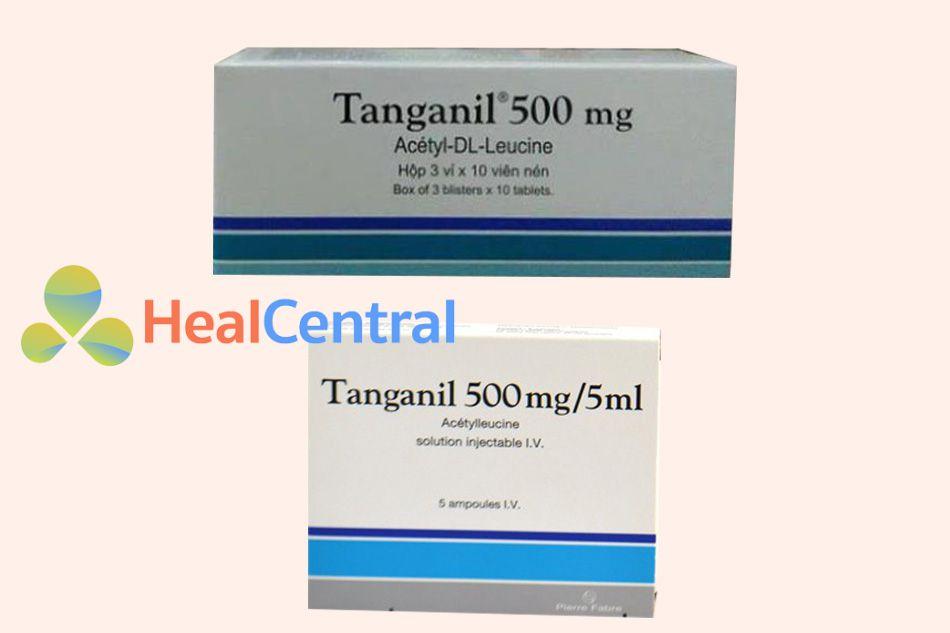 Các dạng bào chế của thuốc Tanganil
