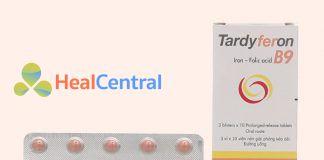Thuốc Tardyferon B9