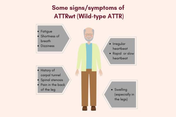 Triệu chứng của ATTRwr