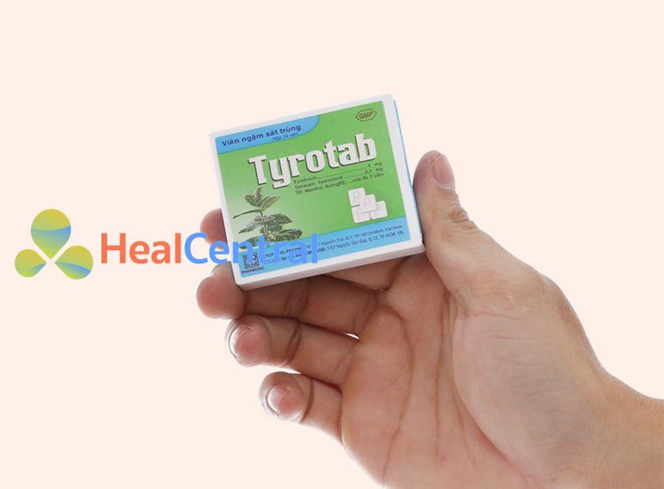 Cách sử dụng thuốc Tyrotab