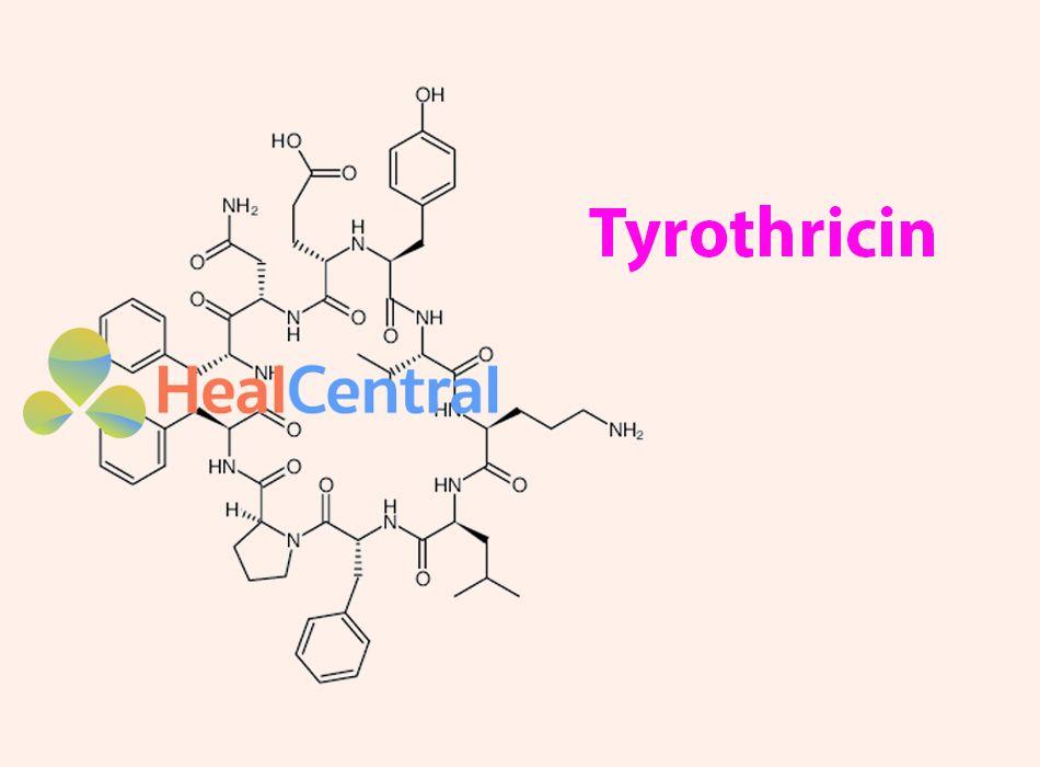 Công thức hóa học của Tyrothricin
