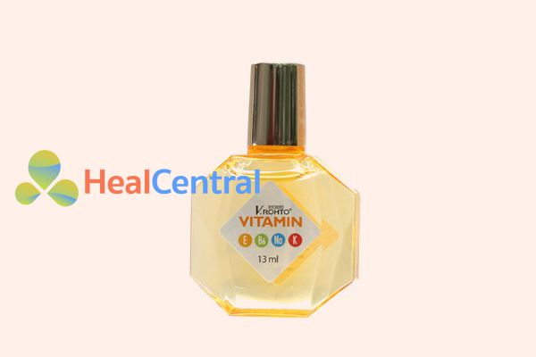 Hình ảnh: Lọ Thuốc nhỏ mắt V.rohto vitamin